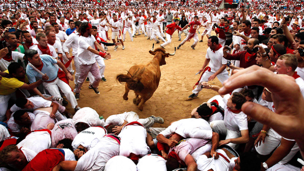Running of the bulls
